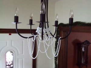 Entryway Chandelier Decoration
