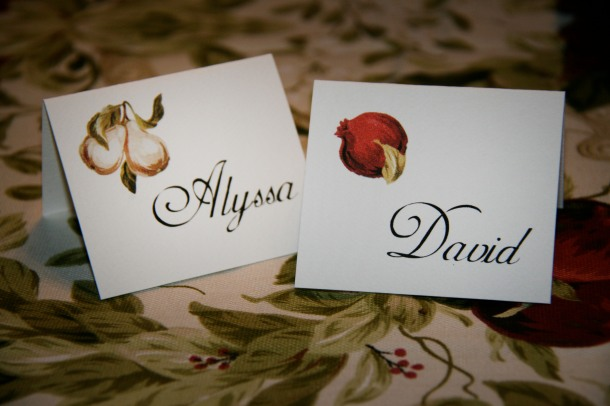 Escort card idea